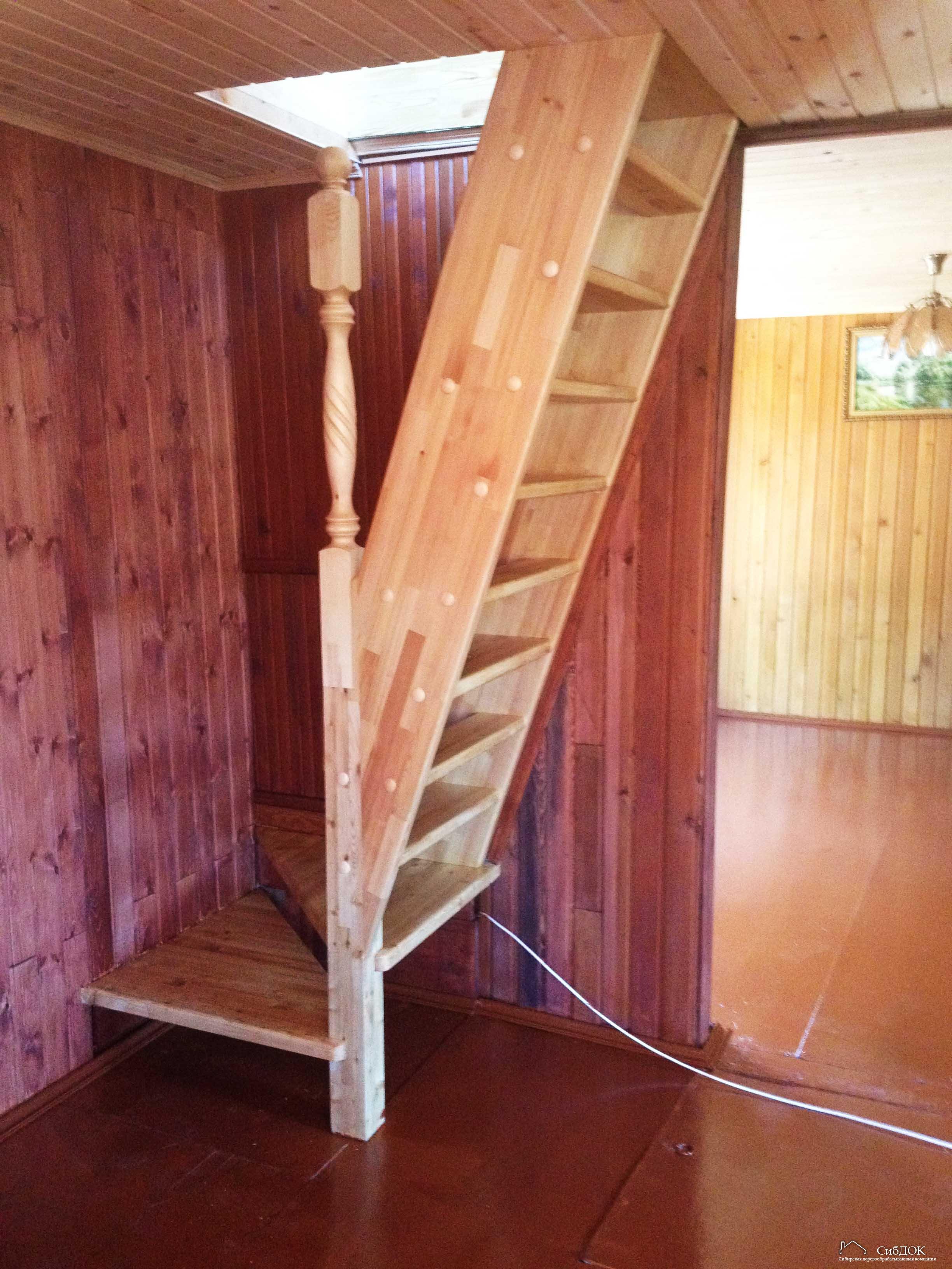 Как недорого сделать лестницу 663