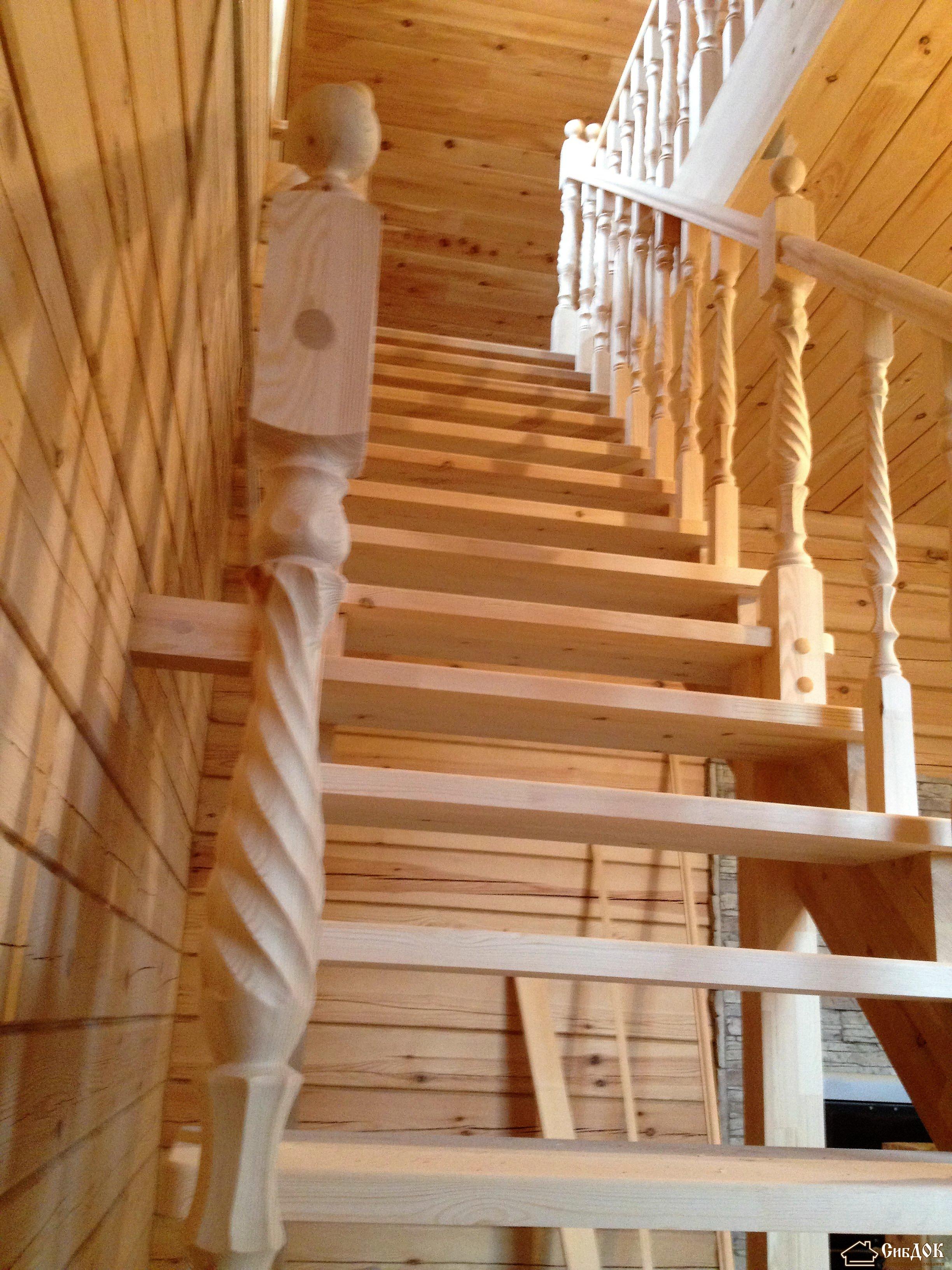 Деревянная лестница схемы фото
