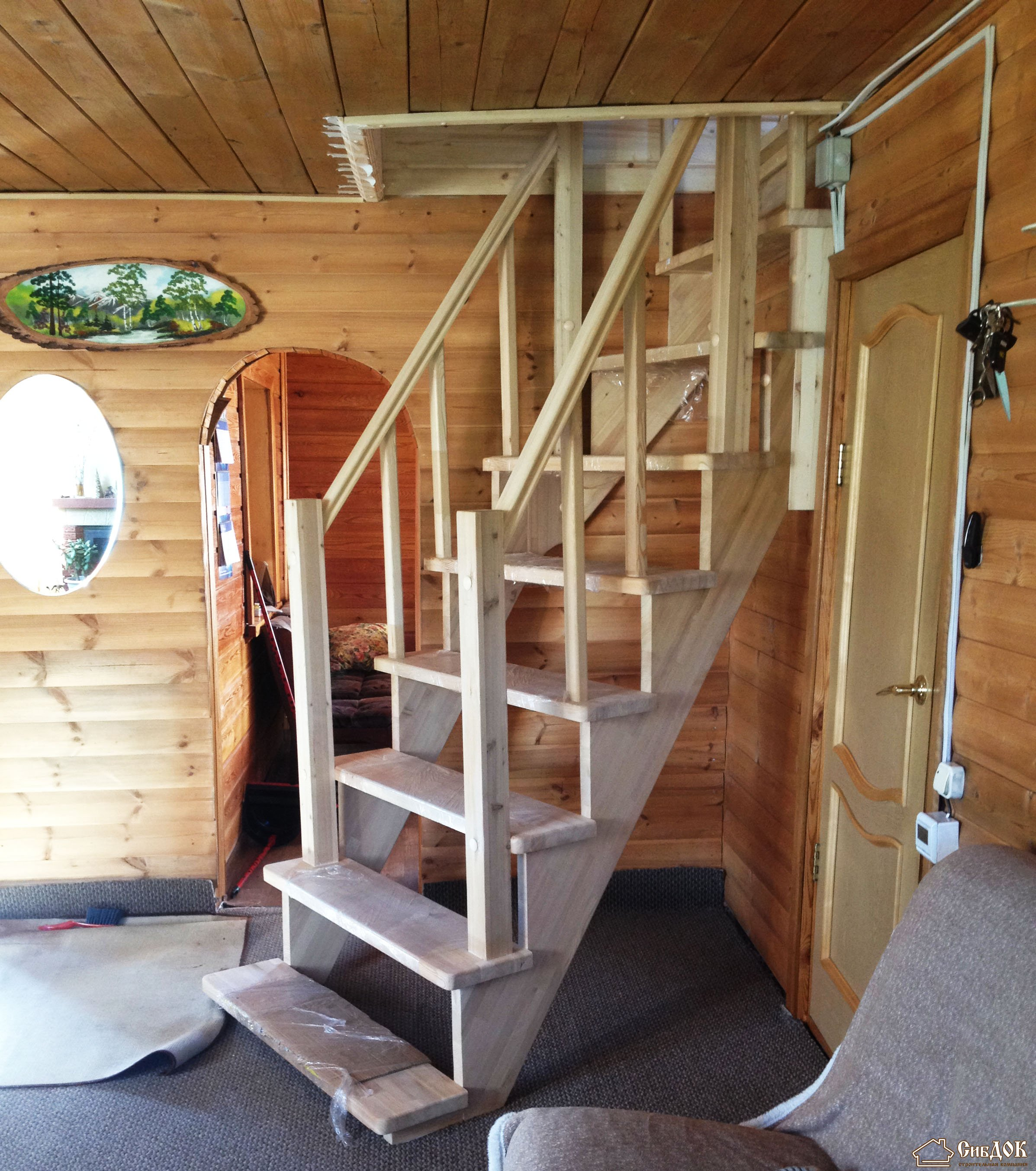 творожник лестница на второй этаж дачи фото случае, если