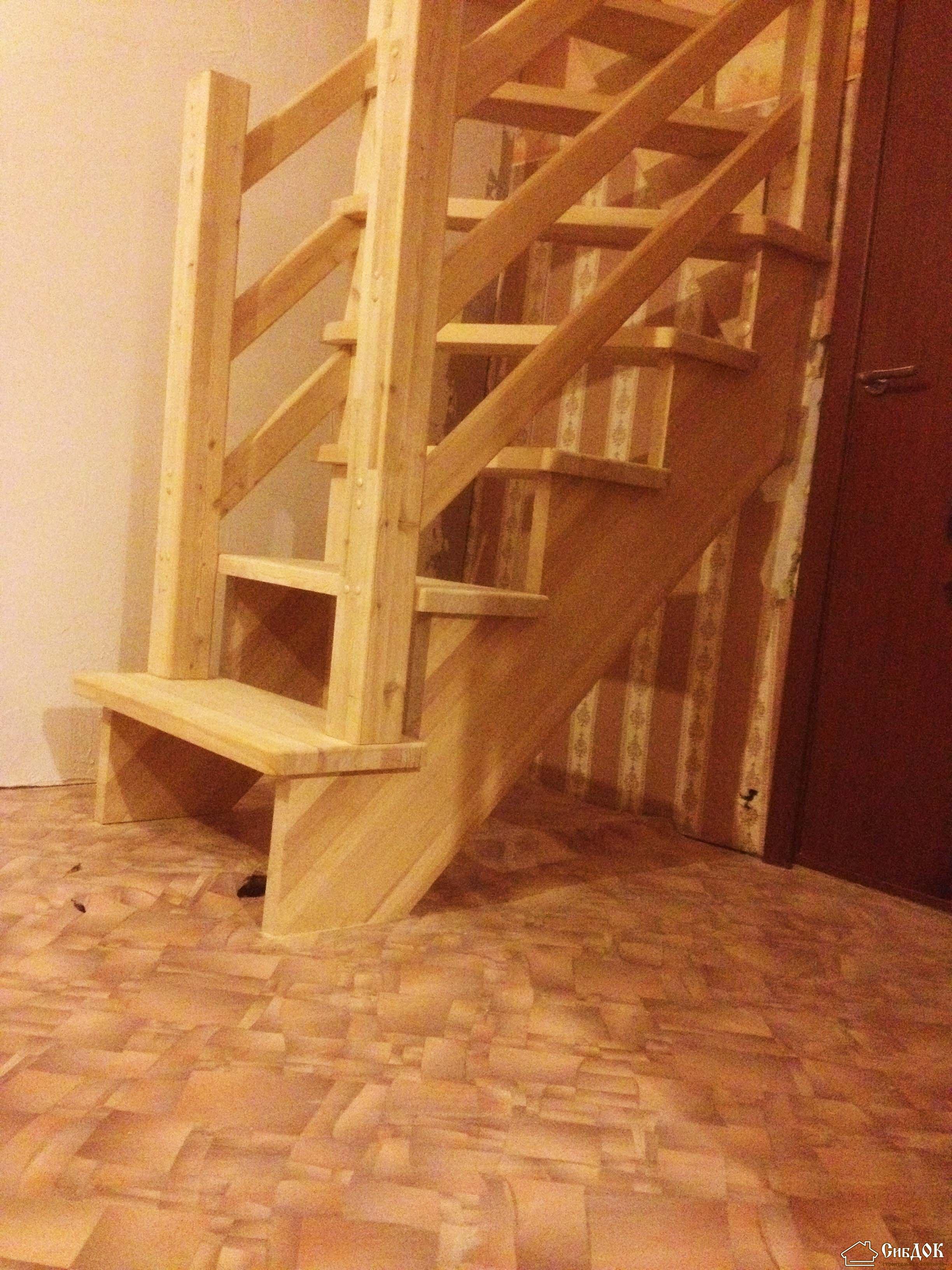 Винтовая лестница своими руками 45